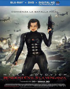 Resident Evil 5: La venganza (2012) Full HD 1080P Latino - 2012