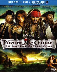 Piratas del Caribe: Navegando En Aguas Misteriosas (2011) Full HD 1080p Latino - 2011
