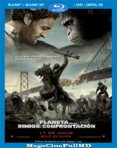 El Planeta De Los Simios: Confrontación (2014) Full HD 1080P Latino - 2014