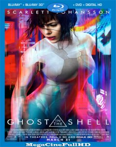 La Vigilante Del Futuro: Ghost In The Shell (2017) Full HD 1080P Latino - 2017
