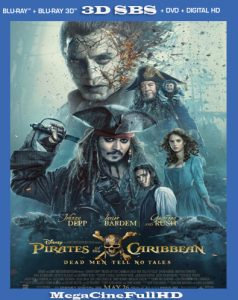 Piratas Del Caribe: La Venganza De Salazar (2017) 3D SBS Latino - 2017