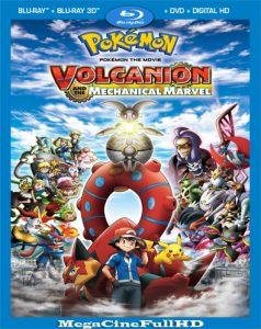 Pokémon: Volcanion Y La Maravilla Mecánica (2016) Full HD 1080P Latino - 2016