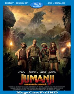 Jumanji: En la selva (2017) Full HD 1080p Latino - 2017