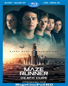 Maze Runner: La Cura Mortal (2018) Full HD 1080P Latino - 2018
