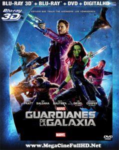 Guardianes De La Galaxia (2014) Full 3D SBS Latino - 2014