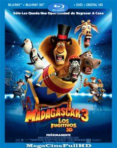 Madagascar 3: Los Fugitivos (2012) Full HD 1080P Latino ()