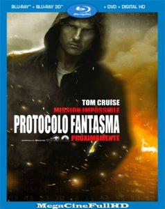 Misión Imposible: Protocolo Fantasma (2011) Full HD 1080P Latino - 2011