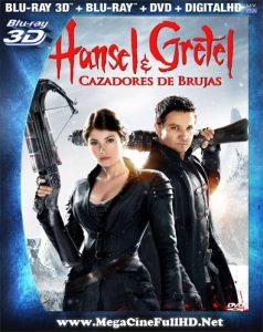 Hansel Y Gretel: Cazadores De Brujas (2013) Full 3D SBS Latino ()