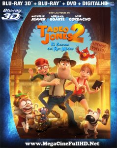 Tadeo Jones 2: El Secreto Del Rey Midas (2017) Full 3D SBS Latino ()