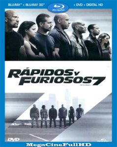 Rapido y Furioso 7 (2015) Extended Full HD 1080P Latino ()