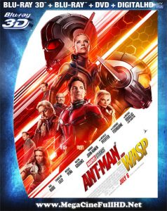 Ant-Man Y La Avispa (2018) Full 3D SBS Latino ()