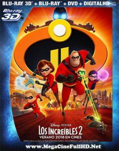 Los Increíbles 2 (2018) Full 3D SBS Latino ()
