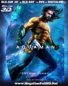 Aquaman (2018) Full 3D SBS Latino ()
