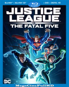 Justice League Vs. The Fatal Five (2019) Full 1080P Latino - 2019