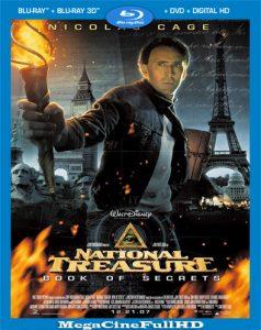 La Leyenda Del Tesoro Perdido: El Libro De Los Secretos (2007) Full 1080P Latino ()