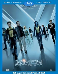 X-Men: Primera Generación (2011) Full 1080P Latino - 2011