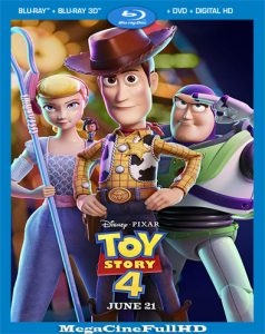 Toy Story 4 (2019) Full 1080P Latino ()