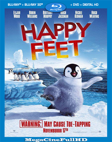 Happy Feet: El Pingüino (2006) Full 1080P Latino
