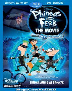 Phineas Y Ferb: A Través De La Segunda Dimensión (2011) Full 1080P Latino ()