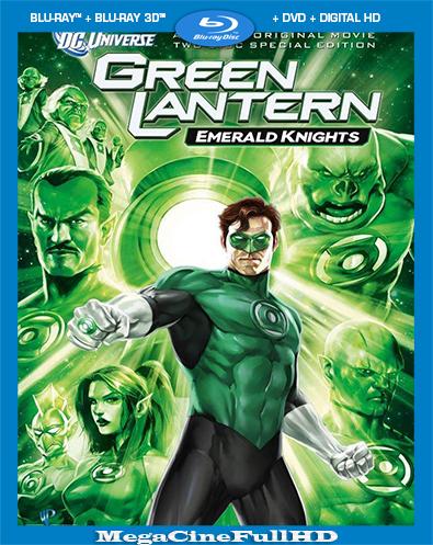 Linterna Verde Caballeros Esmeralda Full 1080P Latino