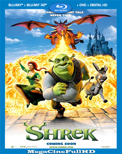 Shrek (2001) Full 1080P Latino