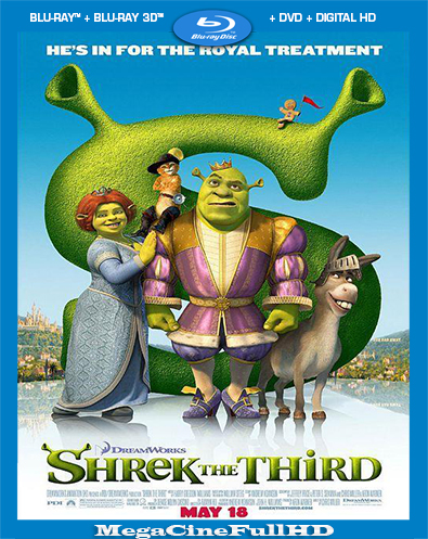 Shrek Tercero (2007) Full 1080P Latino