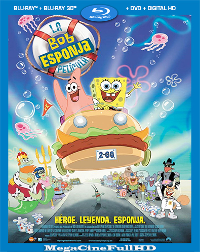 Bob Esponja: La Película (2004) BRRIP Full 1080P Latino